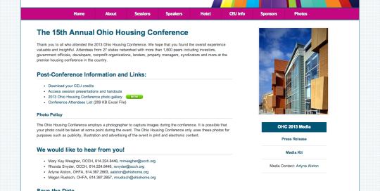 2013 Ohio Housing Conference