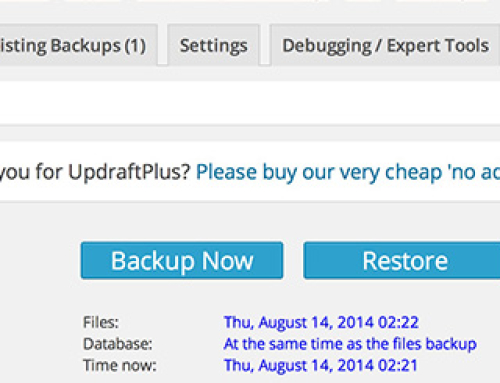 Warning!!! Backup Your WordPress Site or Learn the Hard Way
